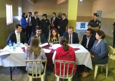 Cuatro Ministros de la Corte visitaron la Penitenciaria Regional de Misiones