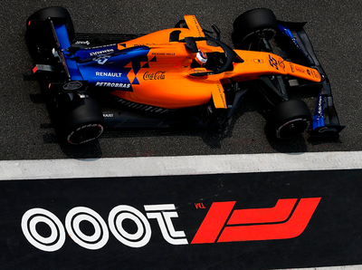 Se viene la carrera número 1000 de la Fórmula F1