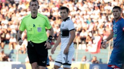 HOY / Juez guaraní en un partido de la Sudamericana