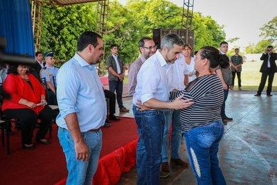 Gobierno realizó entregas varias en Canindeyú
