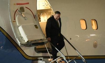 Pompeo llega a Paraguay – Prensa 5