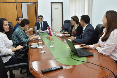Grupo de técnicos de Chile auditan plantas frigoríficas de Paraguay
