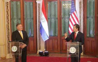 Paraguay y EE. UU. refuerzan compromisos basados en valores compartidos