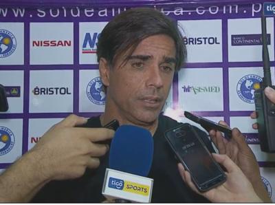 """Javier Sanguinetti: """"Teníamos controlado a Olimpia"""""""