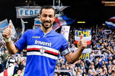 Fabio Quagliarella decide el derbi
