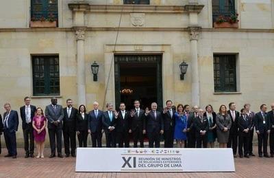 Grupo de Lima prevé reunión para tratará la situación de Venezuela este lunes
