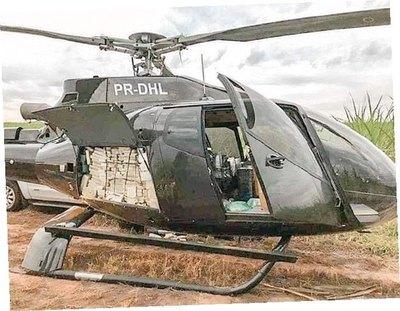"""Cayeron del cielo 500 kilos de """"merca"""" de PJC"""
