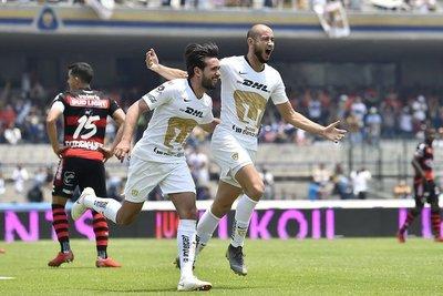 Carlos González le dio la victoria a Pumas sobre Xolos