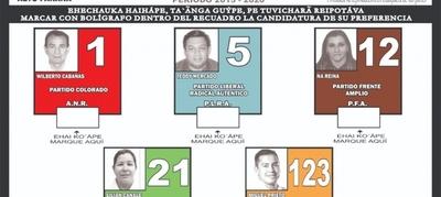 Dan a conocer modelo oficial del boletín de voto para Elecciones Municipales en CDE