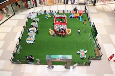 Temporada de Pascua ya se instaló en Paseo La Galería