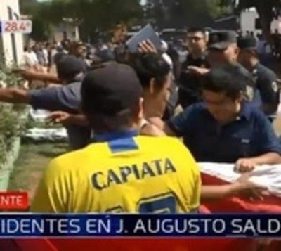 Tensión, enfrentamiento y heridos en J. Augusto Saldivar