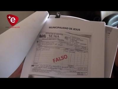 DENUNCIAN EMISIÓN DE FACTURAS FALSAS EN MUNICIPALIDAD DE JESÚS