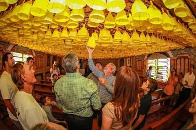 Presidente visita Tañarandy y hogar de ancianos de Misiones