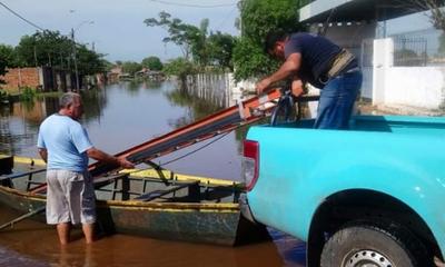 ANDE Corta electricidad en zonas inundadas de Sajonia – Prensa 5