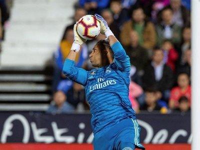 Keylor Navas quiere seguir en el Real Madrid