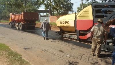 Salvataje de MOPC a calles de Concepción