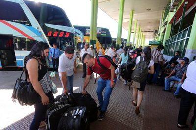 Desde hoy se libera el horario de los buses por Semana Santa