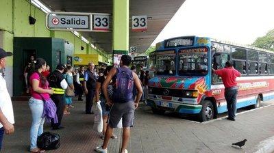 Semana Santa: Desde hoy se liberan los horarios de buses