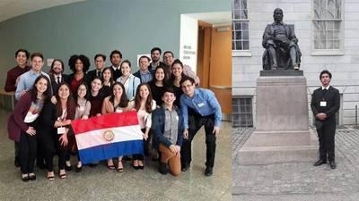 UNIVERSITARIO PARAGUAYO CULTIVA LOGROS EN EE.UU.