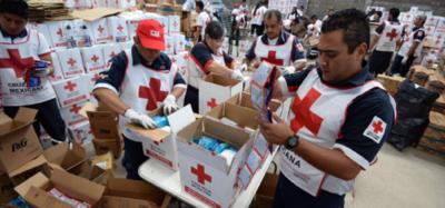 Llega a Venezuela ayuda humanitaria de la Cruz Roja