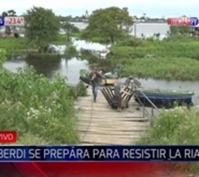 Alberdeños optimistas pese a incesante avance del río