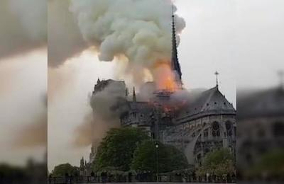 Donald Trump se ganó el odio del mundo por tuit sobre el incendio de Notre Dame