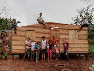 Techo convoca a voluntarios para construcción en Semana Santa
