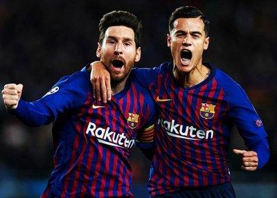 Liderado por Messi, el Barcelona aplastó a Manchester United y está en semifinales