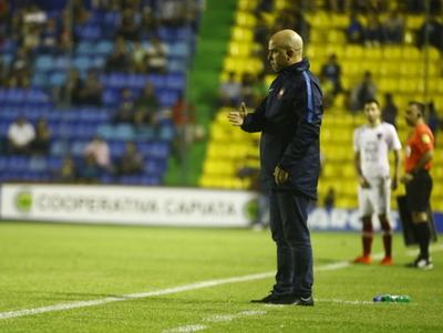 Fernando Jubero analizó lo que fue el empate en Capiatá
