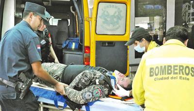 Agentes de Lince sufren accidente