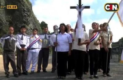 Vía Crucis un clásico para la Semana Santa