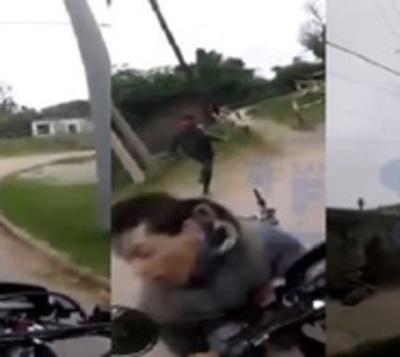 La cinematográfica persecución que culminó con un motochorro preso
