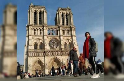 Periodista argentina tomó las últimas fotos del interior de la catedral de Notre Dame antes del incendio