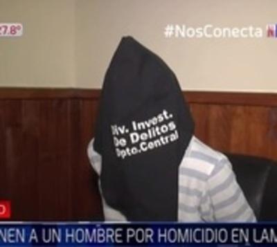 """Cae sospechoso de homicidio en Lambaré: """"Yo le amenacé con un machete"""""""