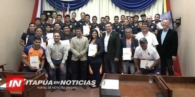 RECONOCIMIENTO A ATLETIC FBC POR CLASIFICAR A LA ETAPA FINAL DE LA COPA PARAGUAY