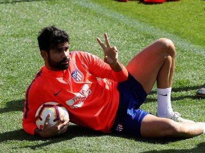 Diego Costa se niega a entrenar con el Atlético de Madrid