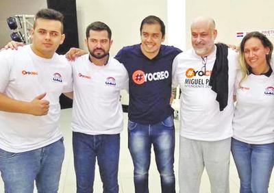 Payo Cubas anuncia campaña con Prieto durante su suspensión