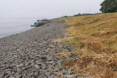 HOY / Río llega a grado de desastre en Alberdi: descartan catástrofe pero temen aislamiento