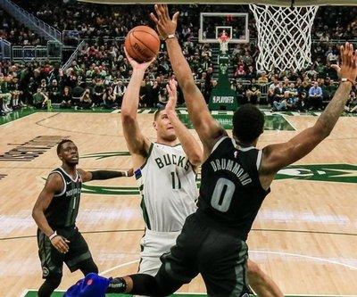 Bucks, Rockets y Celtics dominan 2-0 sus series