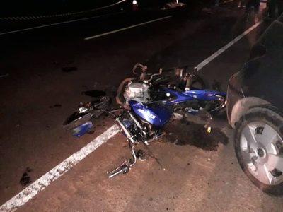 CAP. MIRANDA: DOS MOTOCICLISTAS FALLECEN EN ACCIDENTE SOBRE LA RUTA 6.