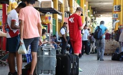 Significativa disminución de pasajeros en la Terminal de Ómnibus
