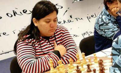 Gabriela Vargas a un paso del título del Zonal 2.5 de ajedrez