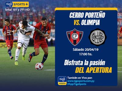 Clásico determinante entre Cerro Porteño y Olimpia