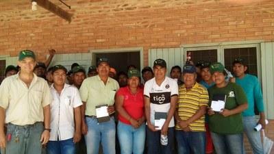 Comunidad indígena Campo Loro festeja sus 40 años de aniversario