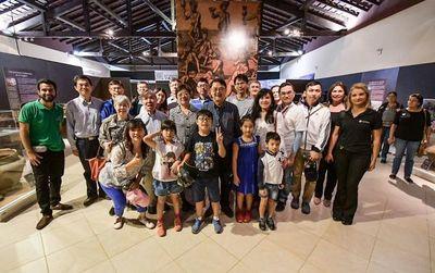 Delegación de China (Taiwán) visitó la represa de Yacyretá