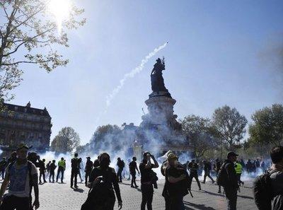 Franceses otra vez reclamaron ayer un mejor nivel de vida