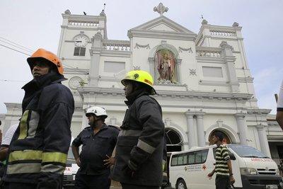 Ocho explosiones dejan al menos 190 muertos en Sri Lanka