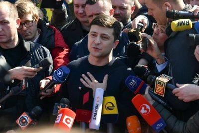 Volodimir Zelenski, de actor cómico a presidente de Ucrania