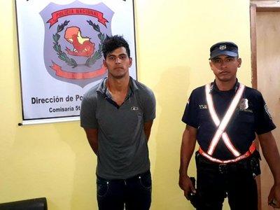 Curuguaty: Detenido cuando intentaba robar una moto