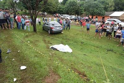Accidente de tránsito deja un muerto en Natalicio Talavera